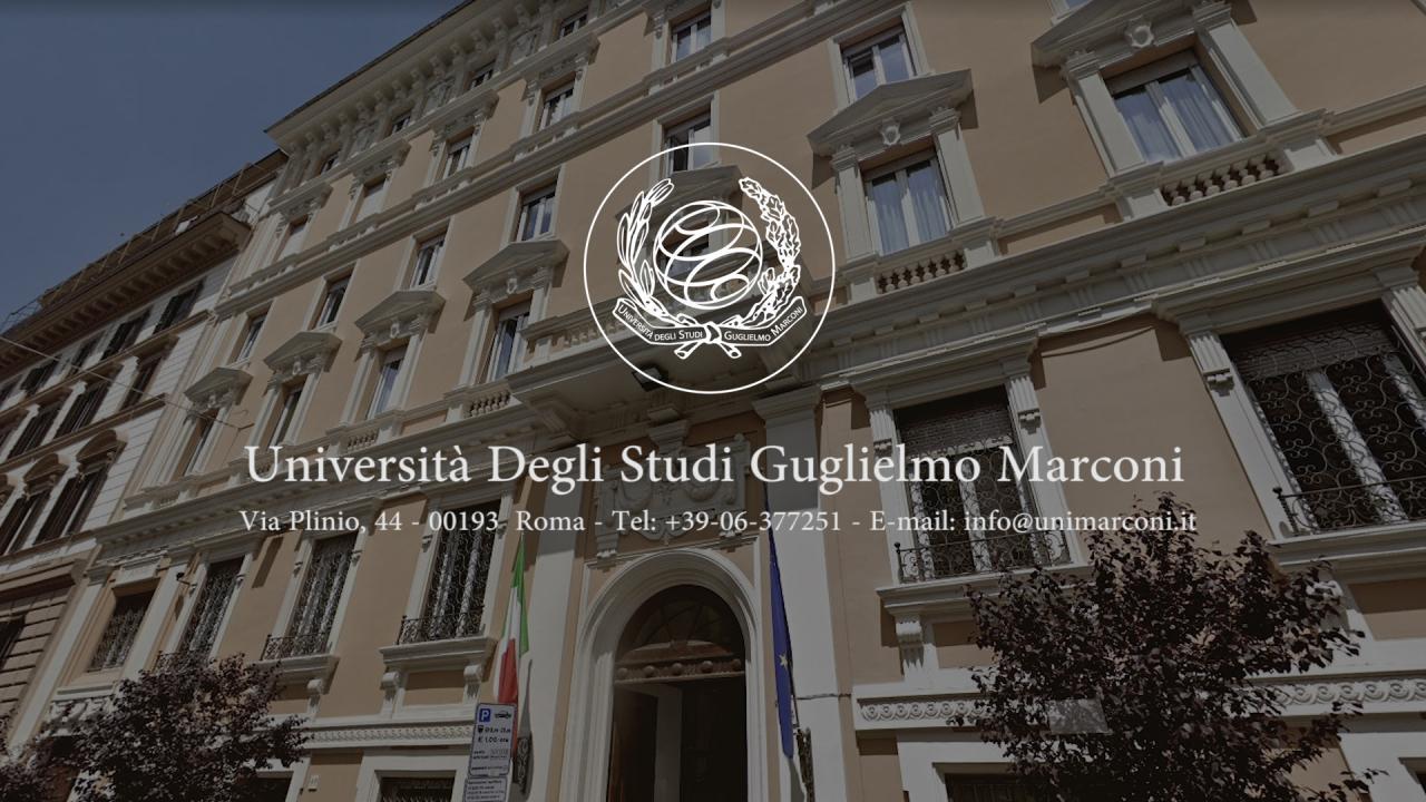 Università degli Studi Guglielmo Marconi   Homepage